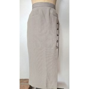 Vintage High Waisted Wiggle Skirt